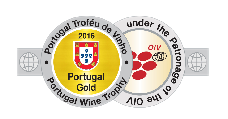 MEDALHA DE OURO  Portugal Wine Trophy 2016